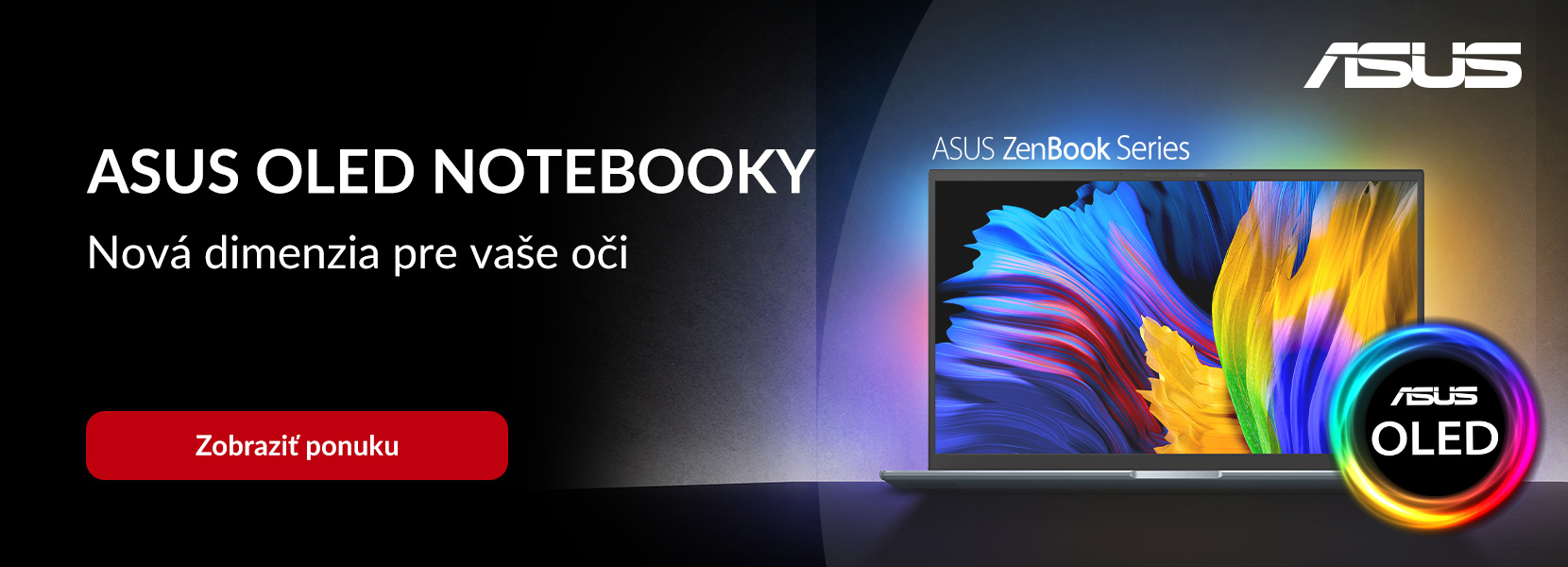 ASUS OLED NOTEBOOKY