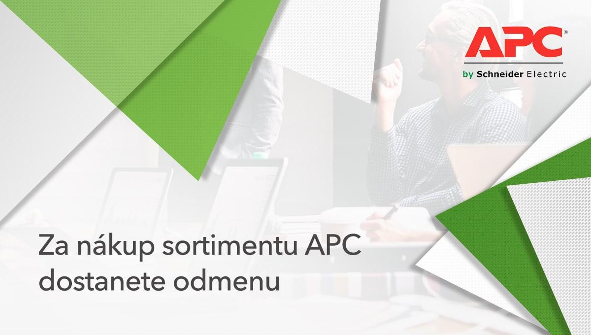 Získajte k nákupu APC Back-UPS prepäťovú ochranu ako darček