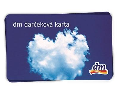 DM darcekova karta