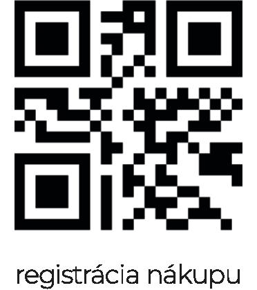 QR kod na registraciu nakupu