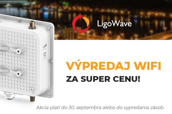 LigoWave - Výpredaj WIFI